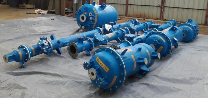 Depuradora de Gas fabricado con material ECTFE