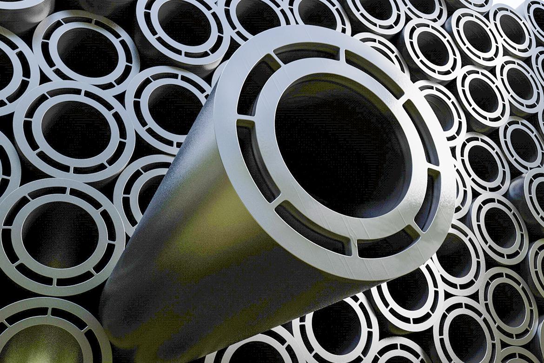 Agruquero Alcantarillado realizado con sistema de tuberías de doble contención